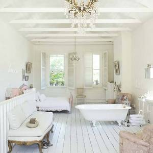 Be 3 greyish white on floor warmer on walls white white on ceiling
