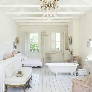 Be 3 greyish white on floor warmer on walls white white on ceiling