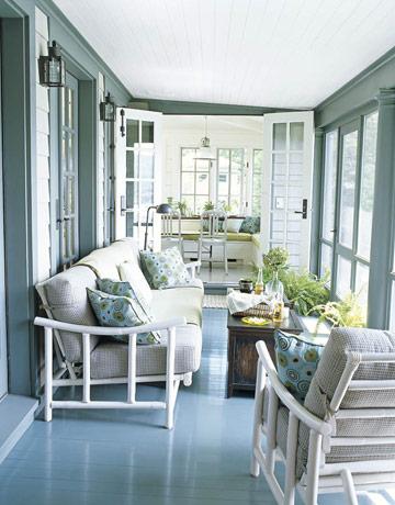 T benj moore narragansett green floor and stonington gray