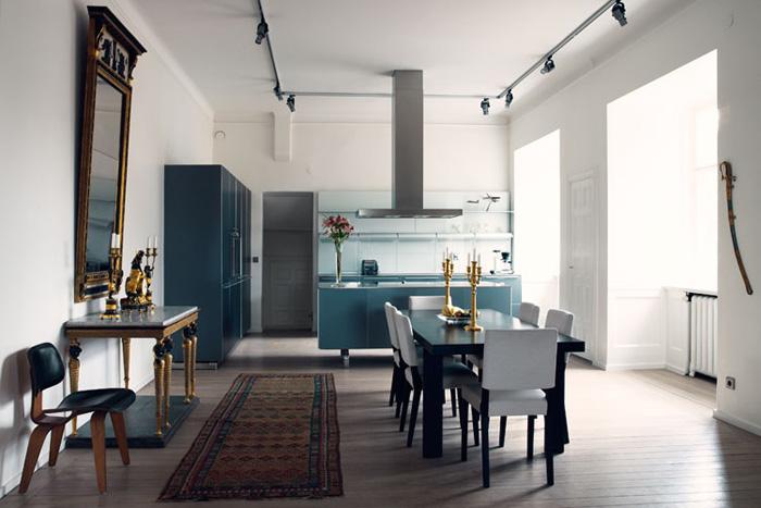 a modern french kitchen - buckboard hill interiors