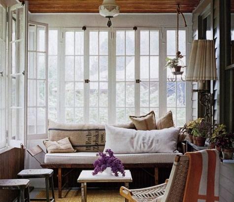 Collected sun porch